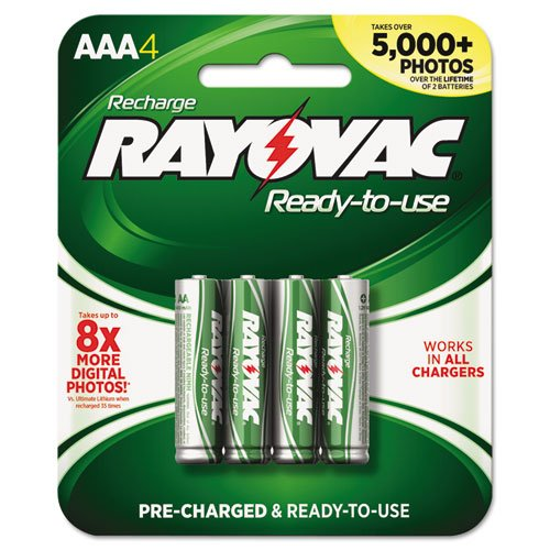 Rayovac Hybrid Rechargeable Battery