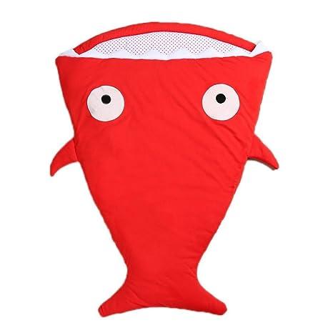 kleitung sche ppend Tiburón – Saco de dormir para bebé neugeboren Sacos de dormir Rote