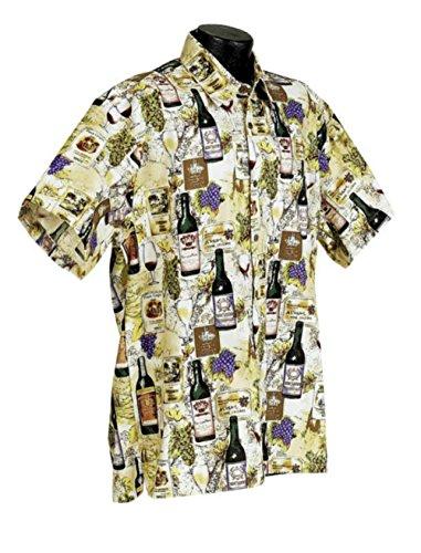 High Seas Trading Company Wine Country Shirt, Multi, 3X-Large