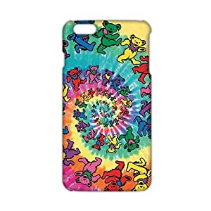 Angl 3D Case Cover Rockband Greatful Dead Phone Case for Iphone 5/5S