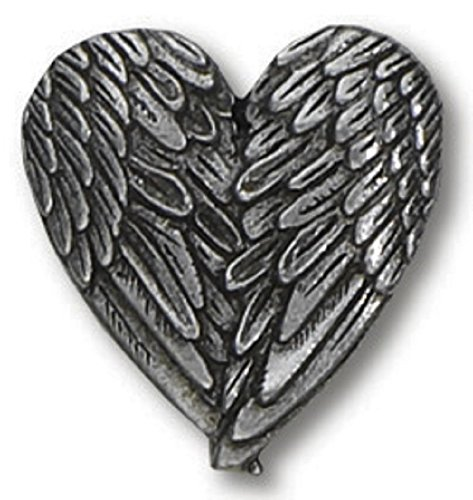 Angel Heart Wings Lapel Pin Ge