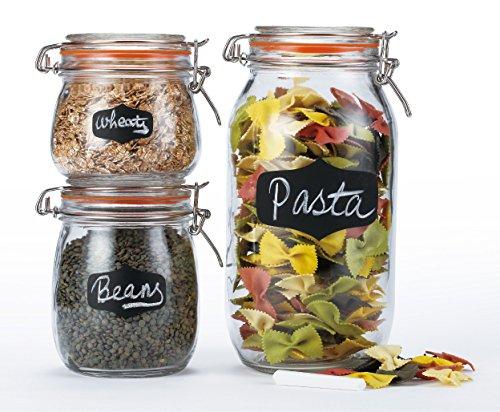 glass spaghetti container - 4