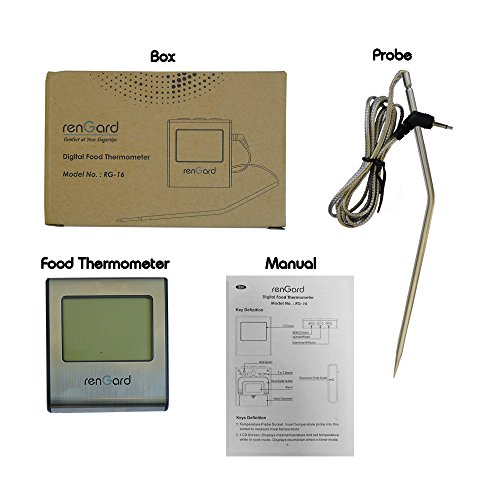 traeger remote digital thermometer manual