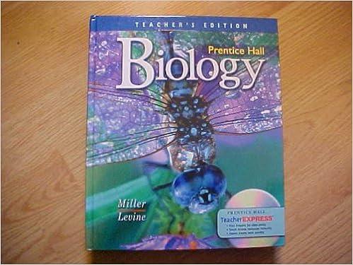Biology Teacher S Edition 9780131662889