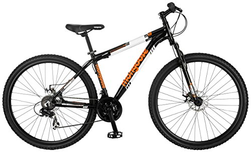 "Mongoose Impasse HD 29"" Wheel Mountain Bicycle, Black, 18"" Frame Size"