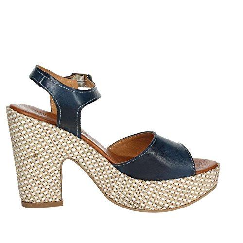 Bleu Sandale Femme F003 Pregunta PZ6579 CqXTUwX7Fv