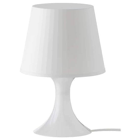 IKEA LAMPAN Lampara de mesa (Blanco)