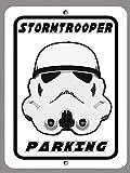 Stormtrooper Parking Collectors 9x12 Aluminum Metal Sign Wall Art 001