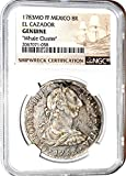 1783 MX 8 Reales Coin From Whale Cluster Clump MO FF El Cazador Shipwreck ,NGC Certified 2067071058 Real Certified NGC