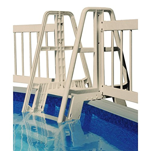 Vinyl Works Ladder (Vinyl Works Pool Ladder/Step to Fence Connector Kit - Taupe)