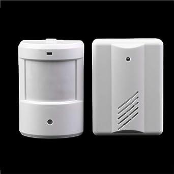 New Driveway Patrol Garage Timbre Infrarrojo Inalámbrico Sistema de Alarma Sensor de Movimiento Seguridad para el