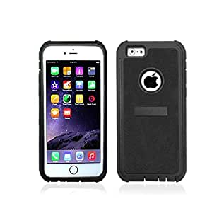 """New 2 in 1 Hybird Impact Protective PC Plastic Hard TPU Silicone rubber Case For Apple iphone6 4.7"""""""