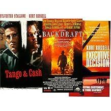 Kurt Russell Collection: Backdraft, Executive Decision, Tango & Cash