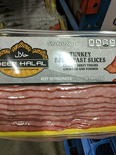 (Deen Halal Turkey Bacon 12 Oz (6 Pack))