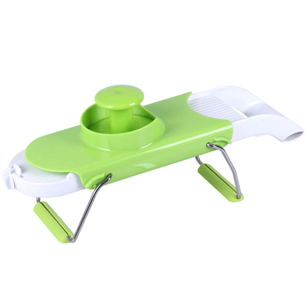 DENGSH Vegetable Slicer, Multi-Function 4-in-1 Chopping Tool, Home Kitchen Supplies, Cutting Device, Safe, not Hurting The Hand Health/Green by DENGSH