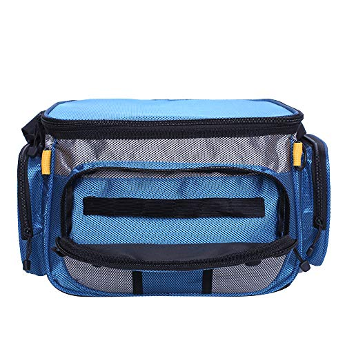 Raprance Small Soft-Sided Fishing Tackle Bag for Saltwater or Freshwater