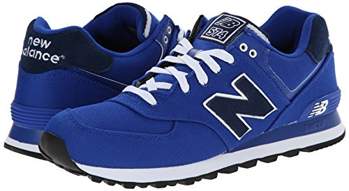 888546365568 - New Balance Men's ML574 Pique Polo Pack Classic Running Shoe, Blue, 9 D US carousel main 5