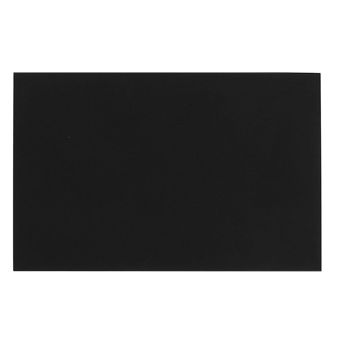 1mm plastique noir acrylique Plexiglas Cut Sheet A5 Taille 148mm x 210mm
