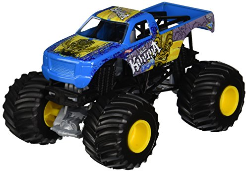 Hot Wheels Monster Jam 1:24 Scale Big Kahuna Vehicle