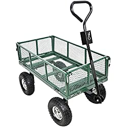 Garden Star 70107 Utility Cart with Sidewalls