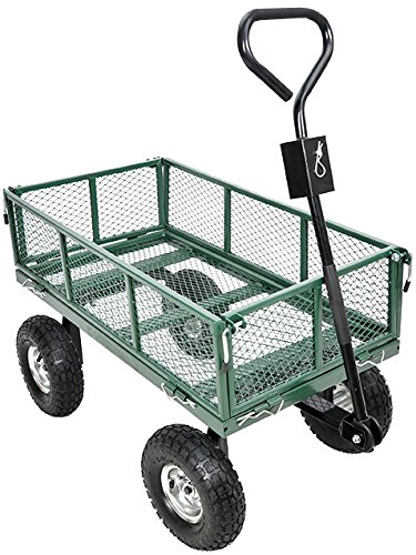 garden star 70107 utility cart with sidewalls - Garden Utility Cart
