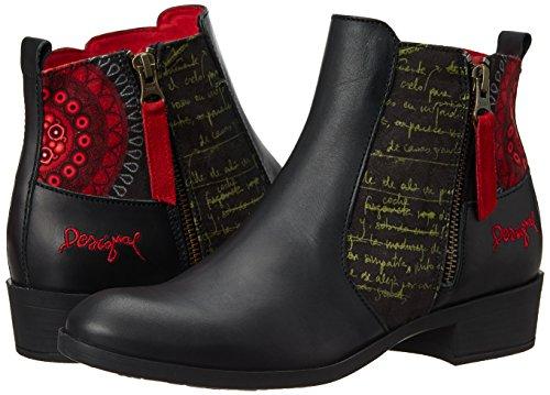 3093 Shoes Donna Stivaletti Natalia rot Ketchup Desigual Rosso 18 UWSpfq