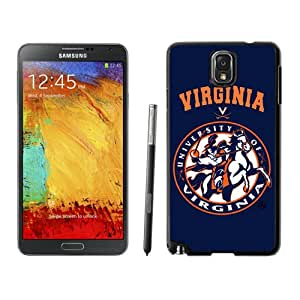 Fashionable And Unique Custom Designed With NCAA Atlantic Coast Conference ACC Footballl Virginia Cavaliers 4 Protective Cell Phone Hardshell Cover Case For Samsung Galaxy Note 3 N900A N900V N900P N900T Black
