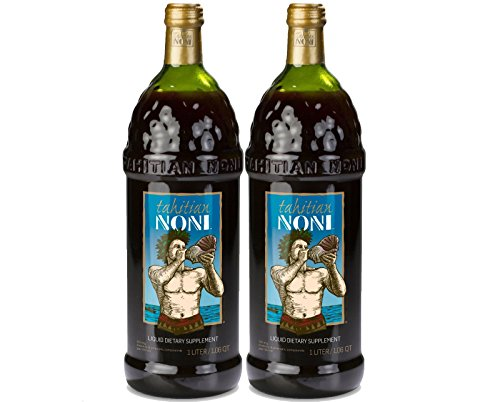 TAHITIAN NONI Juice by Morinda 2PK Case (Two 1 Liter Bottles per Case) by Tahitian Noni