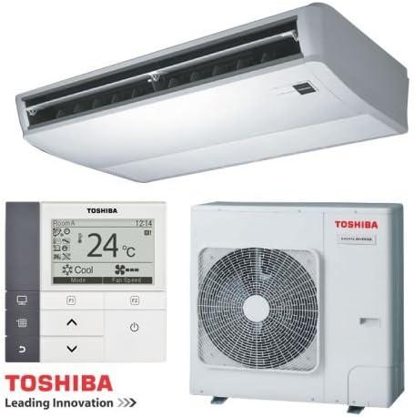 Toshiba Aire Acondicionado bajo Deck Juego de dispositivo digital Inverter refrigeración 12,1 kW/calefacción 12,8 Kw: Amazon.es: Bricolaje y herramientas