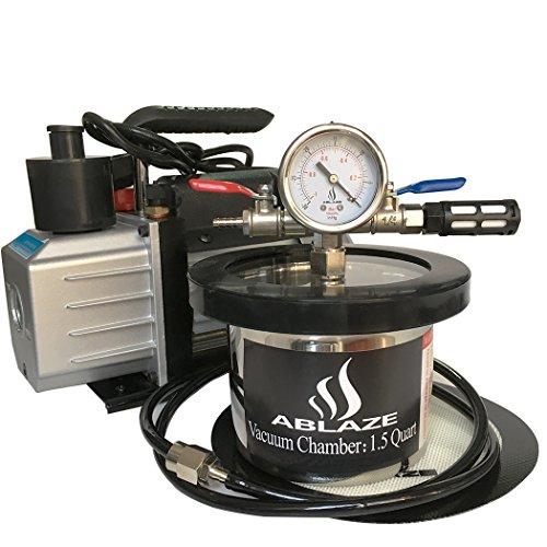 ABLAZE Stainless Vacuum Degassing Chamber product image