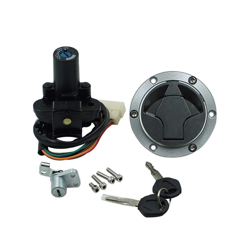 EODUDO-S Compatible Kawasaki EX300 Ninja 300 2013-2017 Ignition Switch Gas Cap Cover Seat Lock Key Set Motorcycle & Powersports