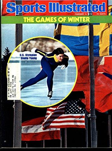 Sports Illustrated Magazine - U.S. Olympian Sheila Young [February 2, 1976]