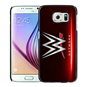 Host Sale Samsung Galaxy S6 Case ,Fashion And Durable Designed With WWE Network Black Samsung Galaxy S6 Cover