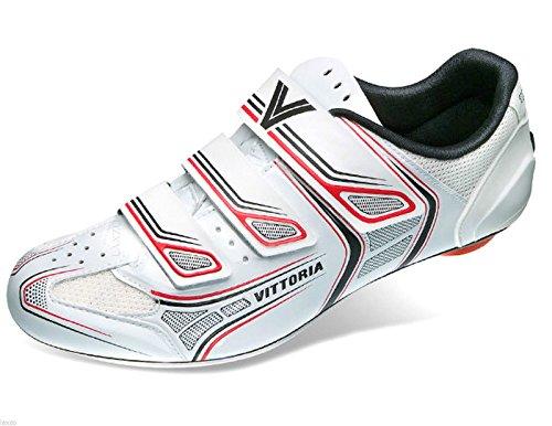 Vittoria zapatos Twister Junior blanco/zapatos rojos multicolor - blanco y rojo