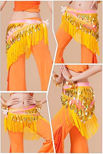 Para Amarillo Mujer Falda Munafie Envolvente w6xq7RY