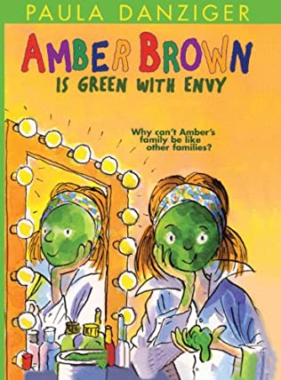 book cover of Amber Brown Is Green with Envy