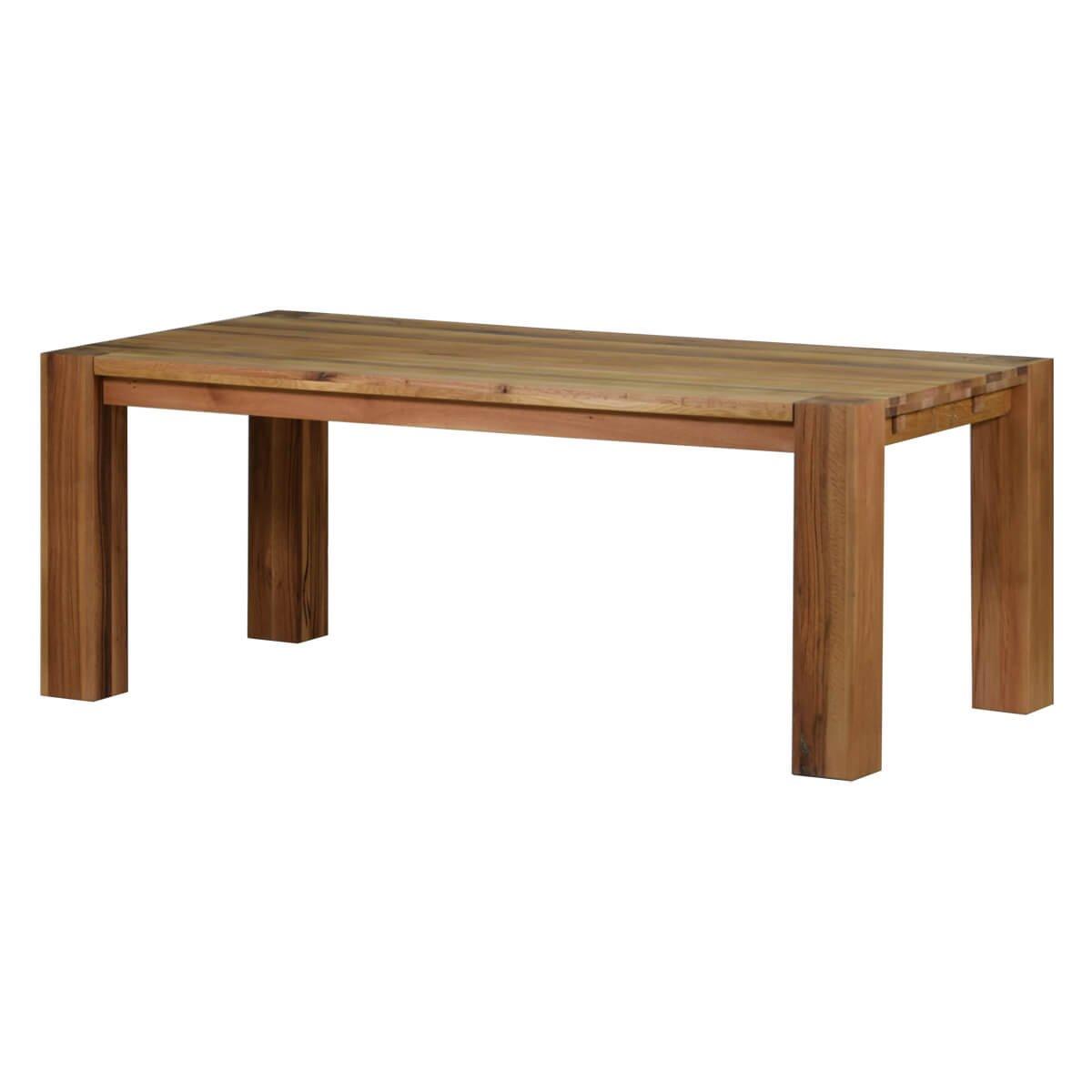 Esstisch Esszimmertisch Küchentisch Braxton, 200x100 cm, Massivholz Holz Eiche massiv natur geölt