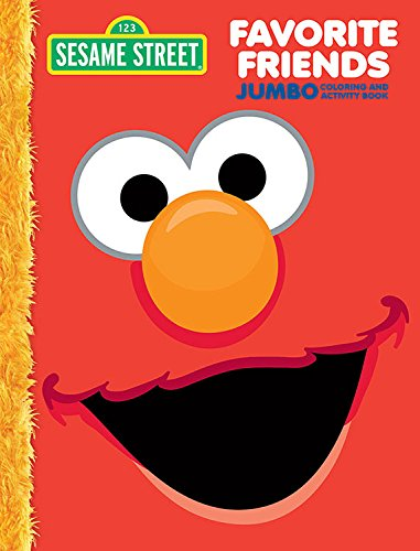 Bendon 42573-Amzb Sesame Street 64-Page Jumbo Coloring and Activity Book -