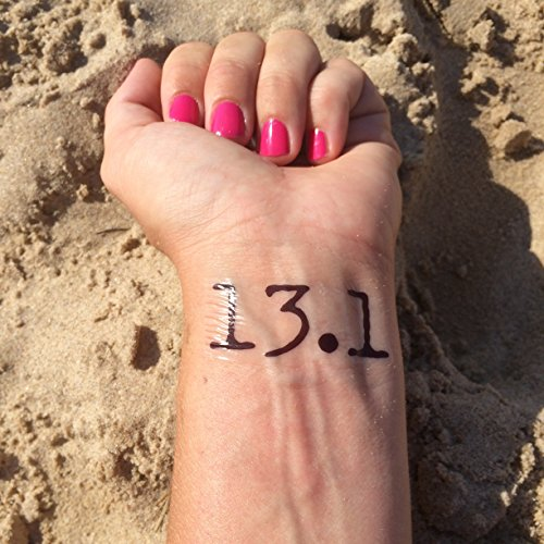 131-half-marathon-running-temporary-tattoo-set-of-3
