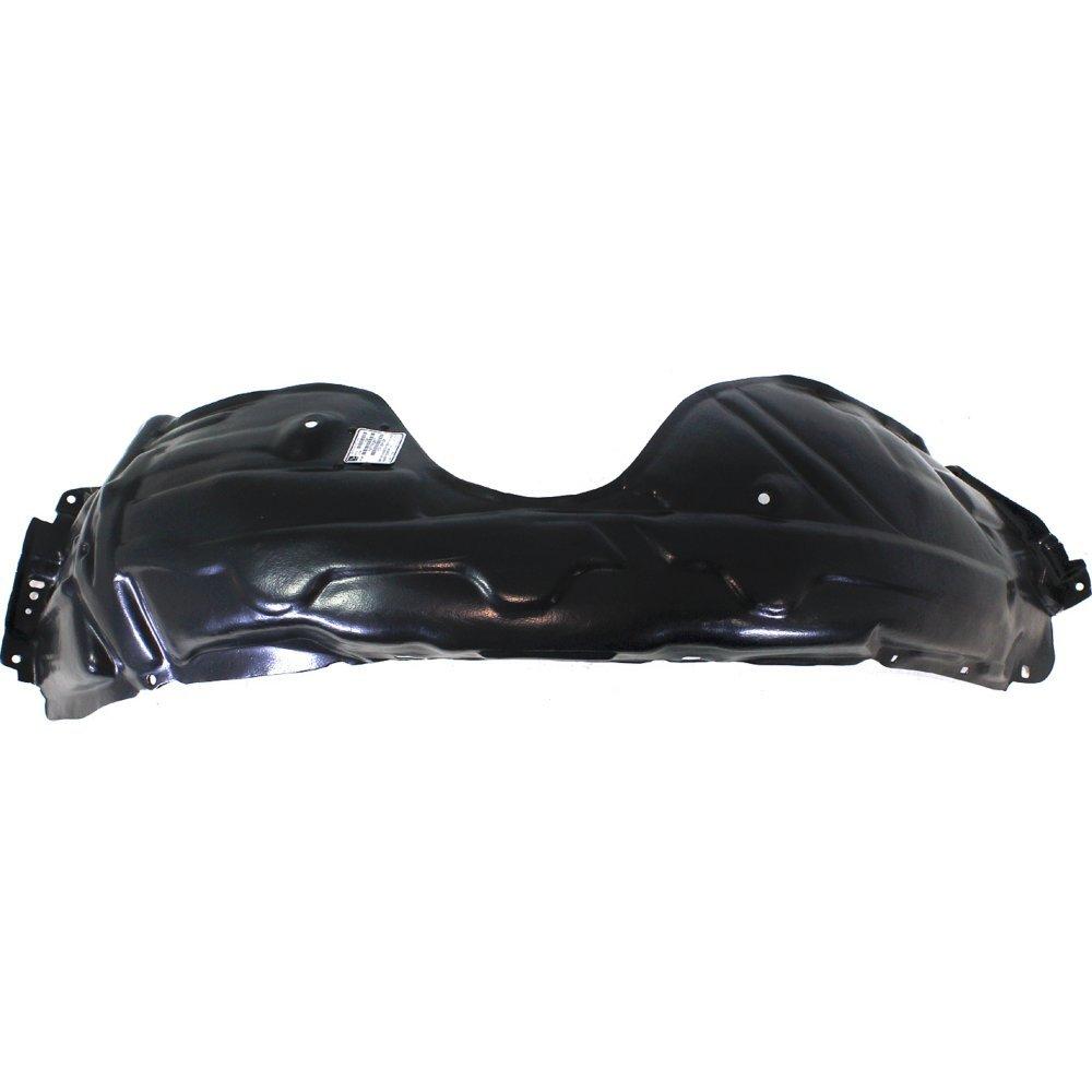 Splash Shield Front Left Side Fender Liner Plastic Sedan Compatible with Toyota Camry 07-11