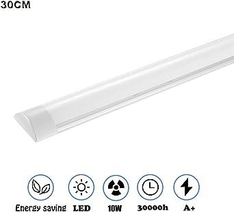 LED Batten Tube Linear Light Ceiling Lamp 30cm//60cm//90cm//120cm Surface Mount UK