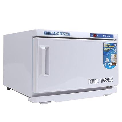 ulaky 25L Salon UV Esterilizador 2 in1 caliente toalla calentador armario masaje belleza Spa salón de