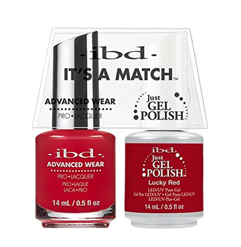 ibd Advanced Wear Color Duo Lucky Red #514 UV Gel Color