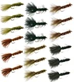 Wooly Bugger Trout Fly Fishing Flies Collection - 18 Flies by Discountflies