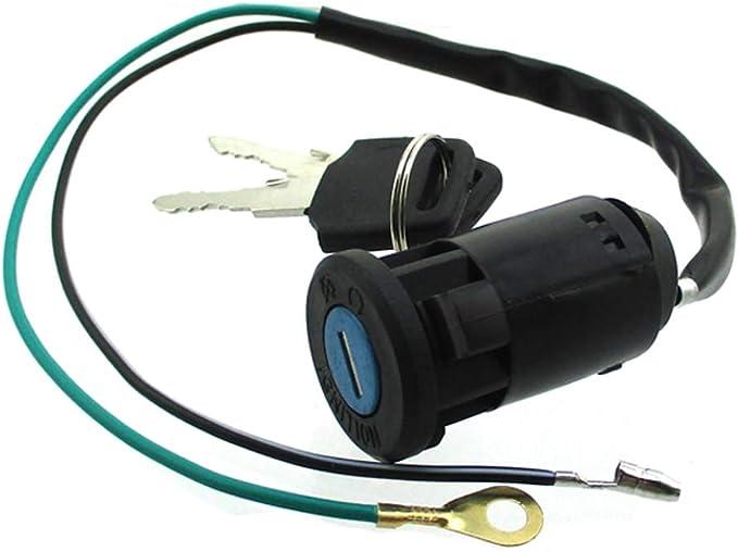 STONEDER 2/Fils Ignition Key commutateur pour 2/Temps 47/49/CC Mini Dirt Pocket Bike ATV