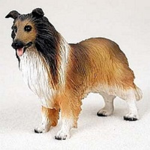 Collie Dog Figurine - Sable