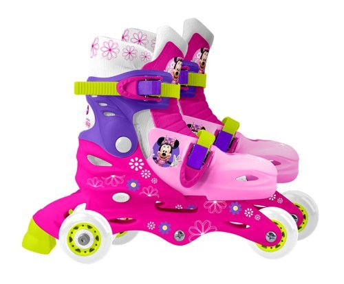 Stamp Disney Minnie Mouse Adjustable 2-in-1 Skates  by Disne