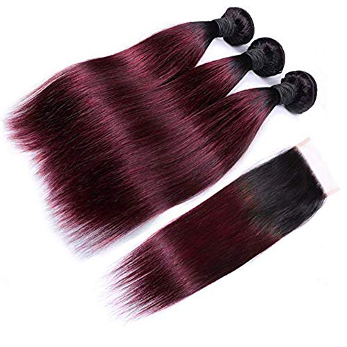 Ombre-Peruvian-Hair-Bundles-with-Closure-1B99J-Straight-Bundles-with-Lace-Closure-9A-Burgundy-Human-Remy-Hair-Weave-3-Bundles-with-Middle-Free-Three-Part-Closure-20-22-2418-inches