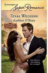 Texas Wedding Kindle Edition