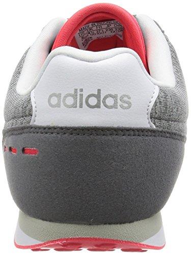adidas Racer City Grey Ftwwht Sportschuhe Damen Msilve Mehrfarbig fxFAg